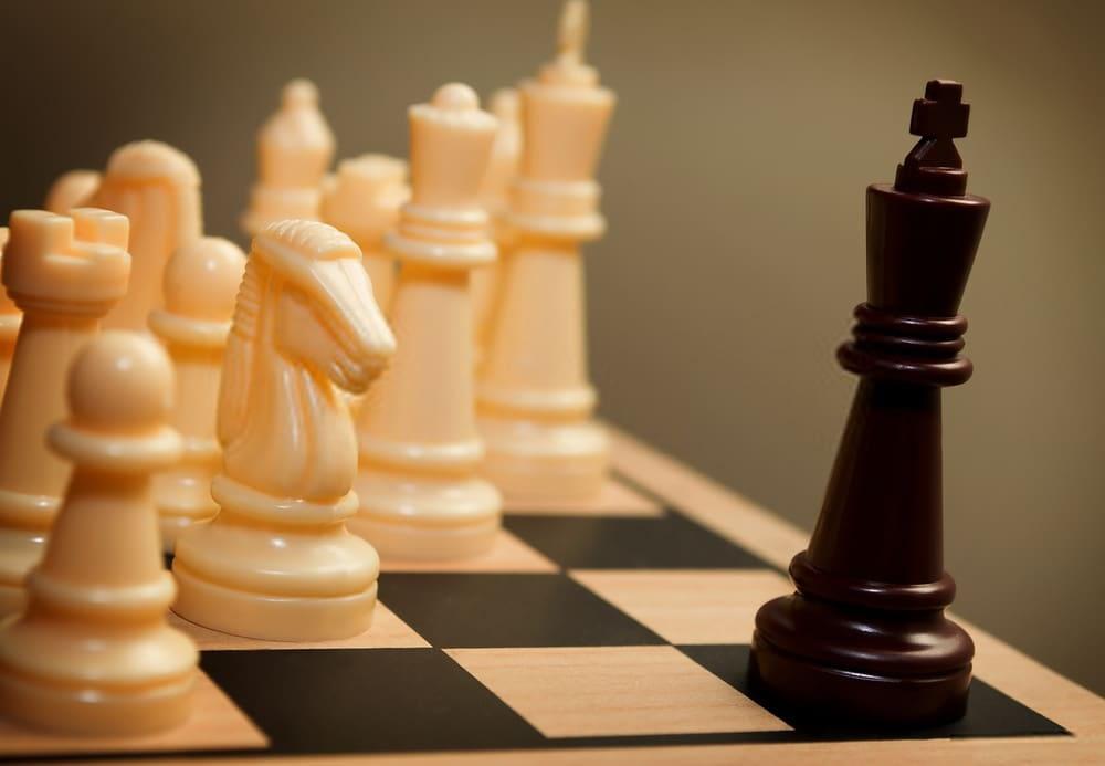 el rey ahogado en ajedrez