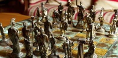 ajedrez temático nuevo