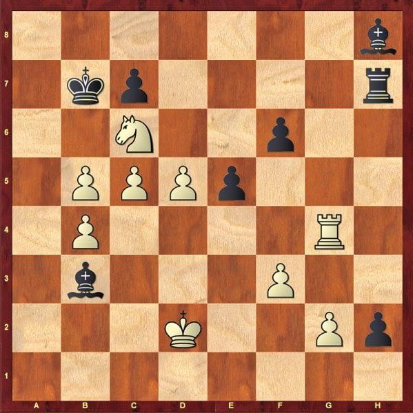 Problemas sencillos de ajedrez